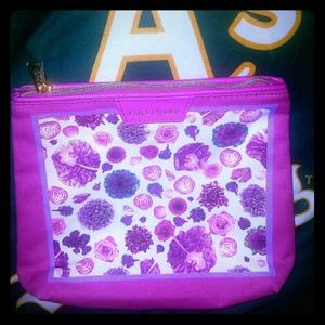 *Beautiful Floral Estee Lauder Makeup Bag*